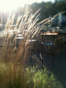 fire pit at BeachFire Bar & Grille